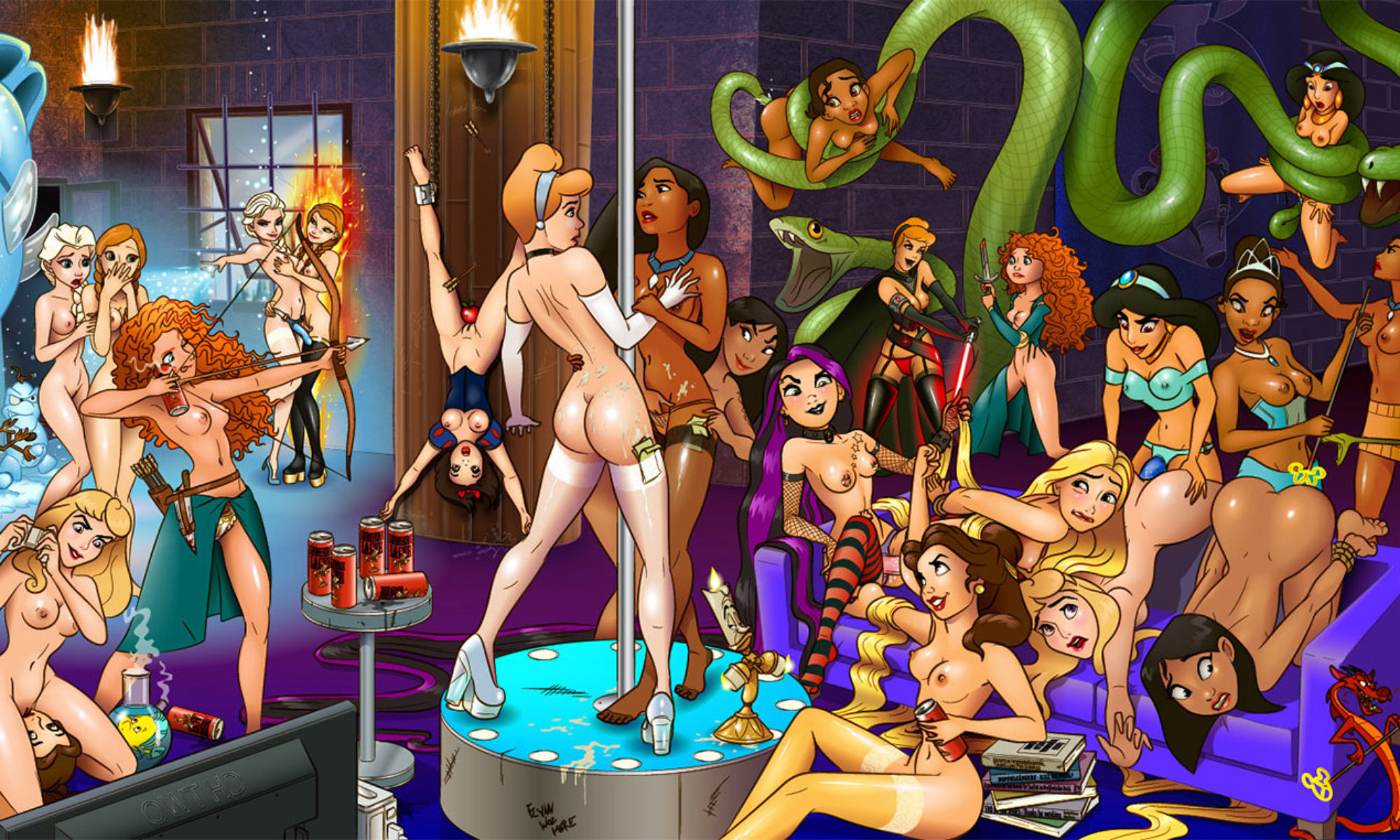 Disney porn: Exclusive disney sex pictures and videos